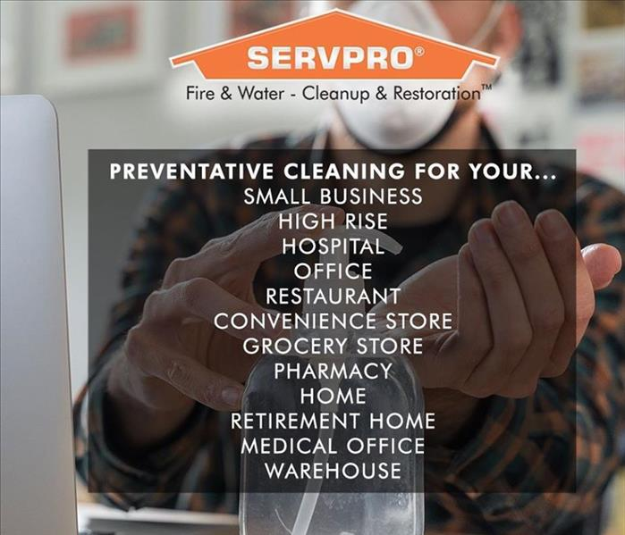 business locations SERVPRO is cleaning